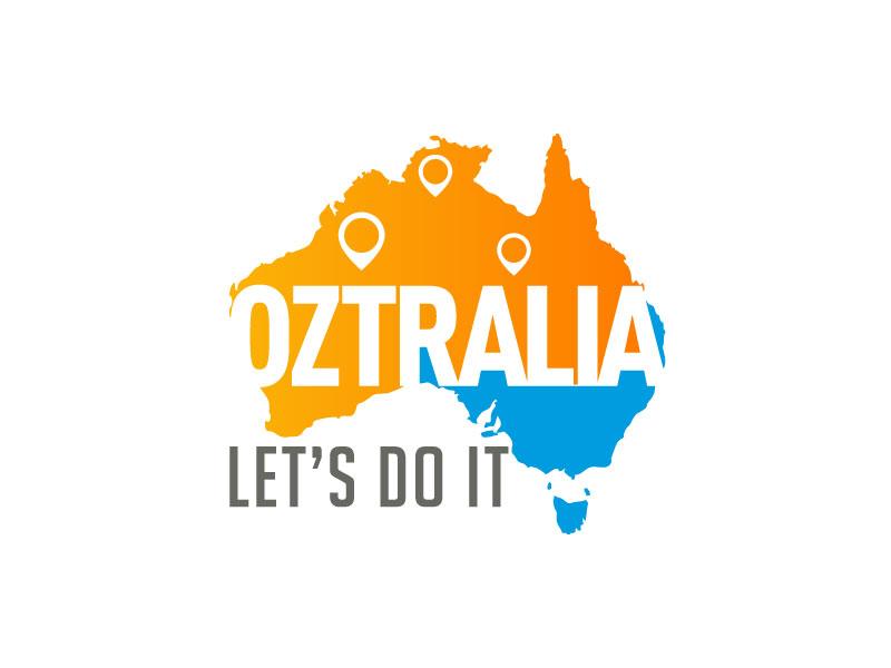 Oztralia Let's Do It logo design by Pintu Das