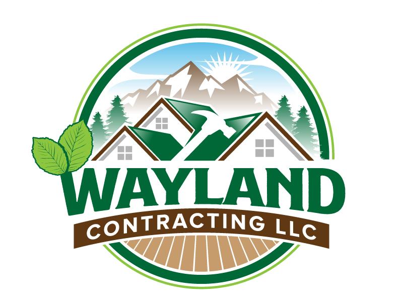 Wayland Contracting LLC logo design by jaize