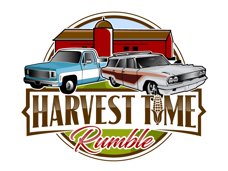 Car Show 'Round the Cornfields logo design by ElonStark