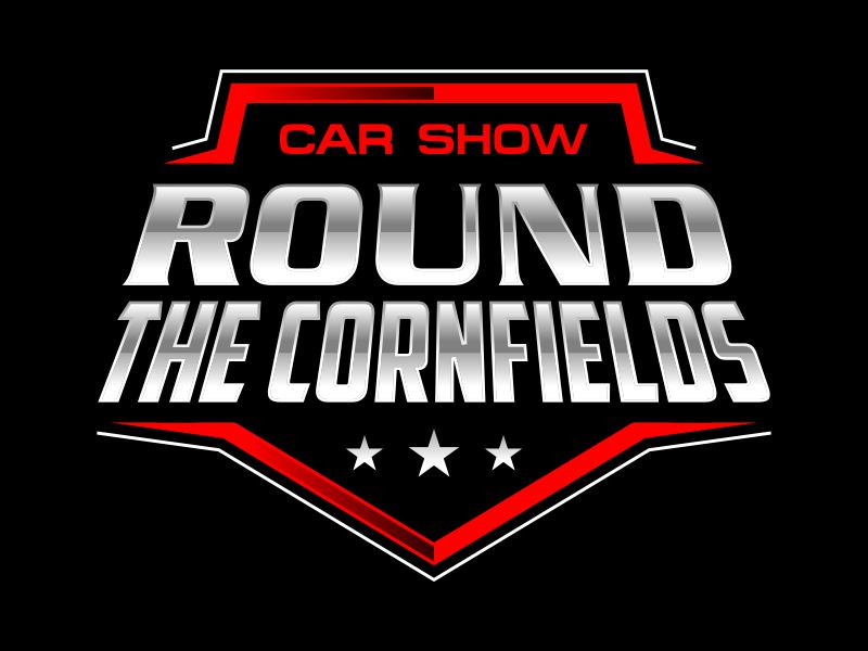 Car Show 'Round the Cornfields logo design by kopipanas