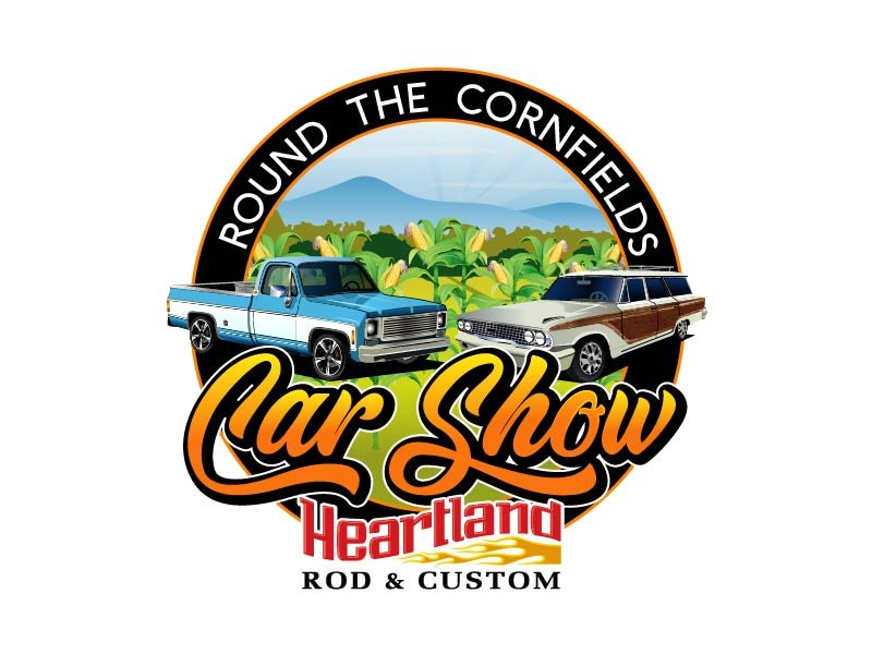 Car Show 'Round the Cornfields logo design by axel182