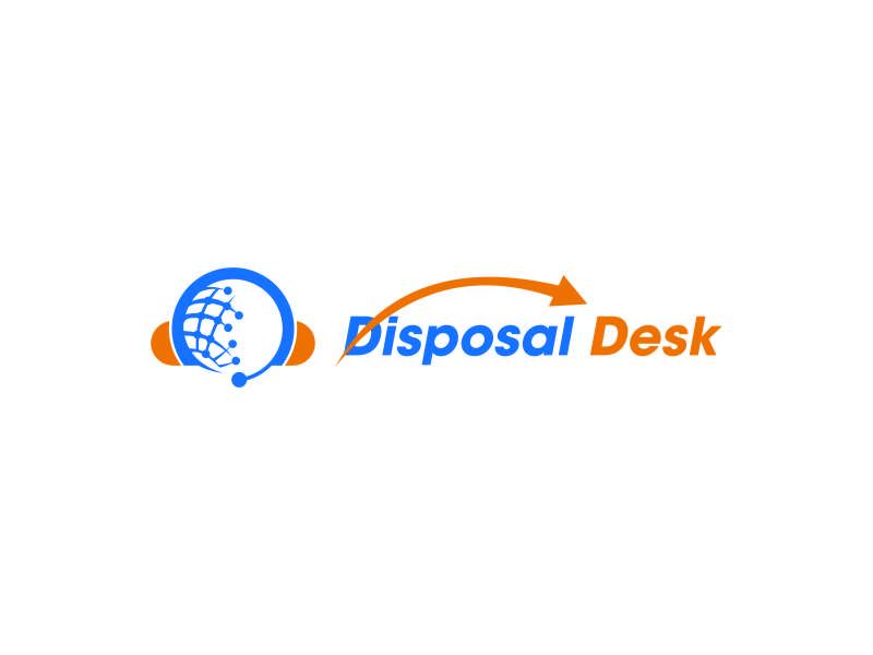Disposal Desk logo design by DuckOn