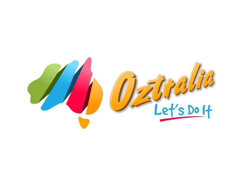 Oztralia Let's Do It logo design by ingepro