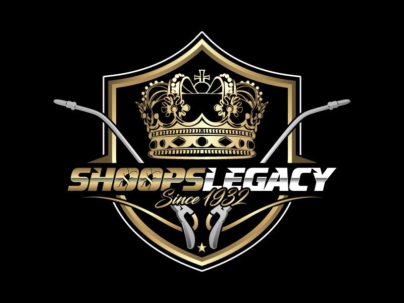 ShoopsLegacy   Since 1932 logo design by Gigo M
