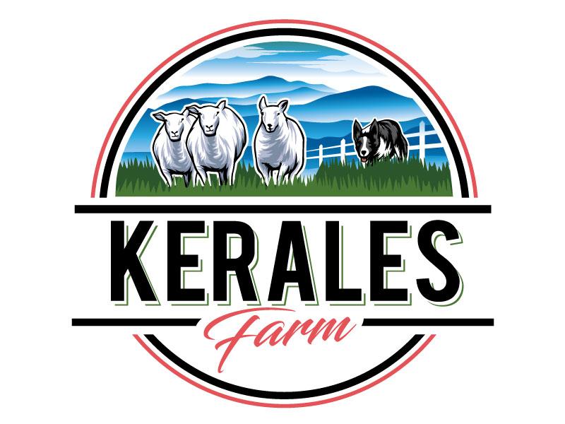 Kerales Farm logo design by REDCROW