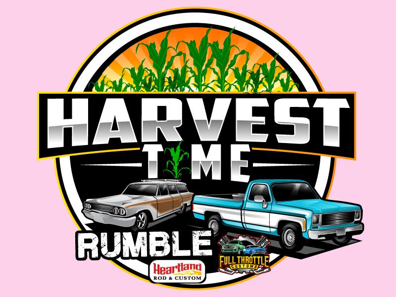 Car Show 'Round the Cornfields logo design by Suvendu