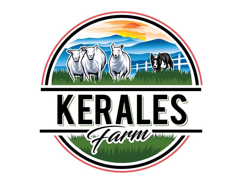 Kerales Farm Logo Design