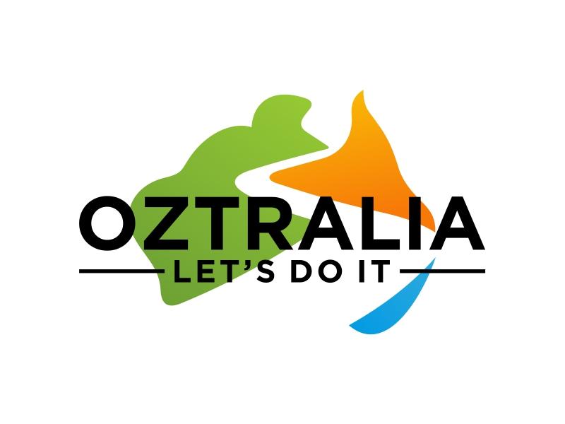 Oztralia Let's Do It logo design by Popay