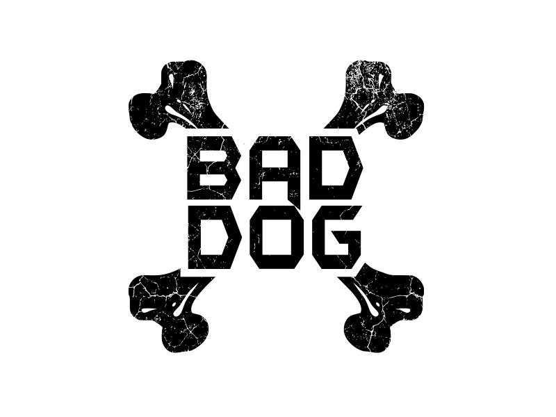 Bad Dog logo design by ruslanyliudmyla