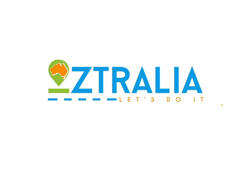 Oztralia Let's Do It logo design by axel182