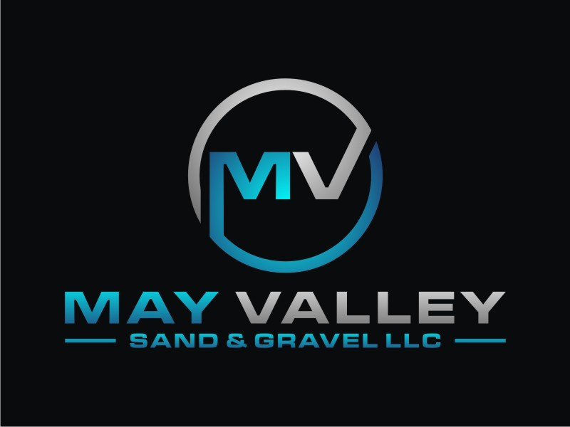 May Valley Sand & Gravel LLC logo design by Arto moro