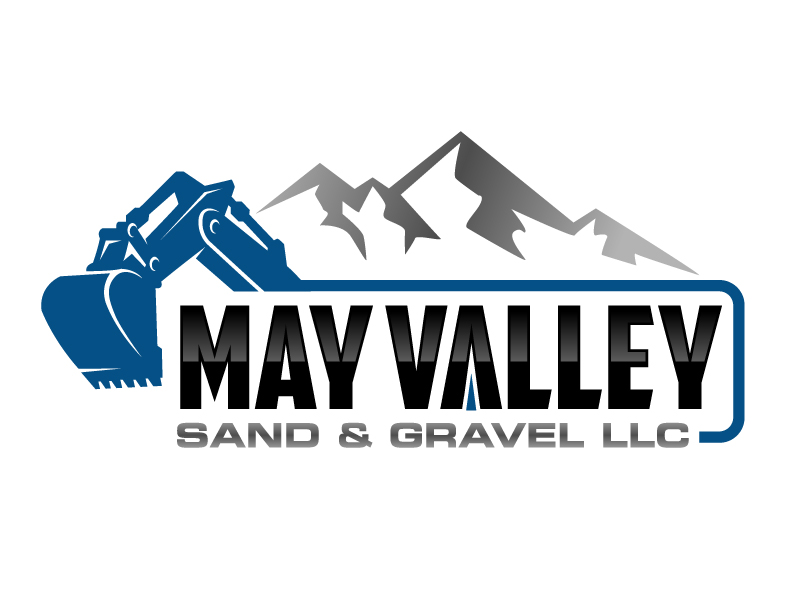 May Valley Sand & Gravel LLC logo design by jaize