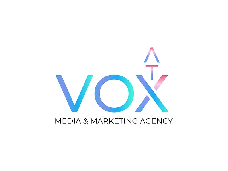 VOX ATX: Media & Marketing Agency logo design by neonlamp