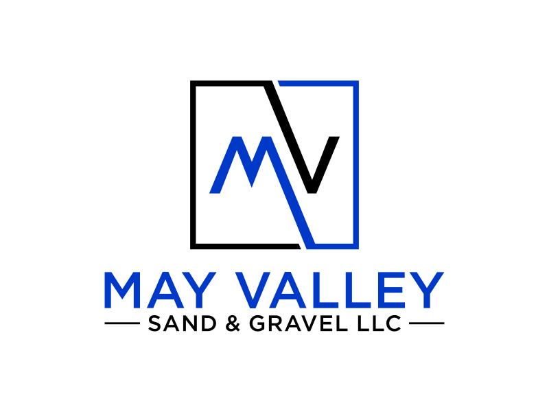 May Valley Sand & Gravel LLC logo design by Amne Sea