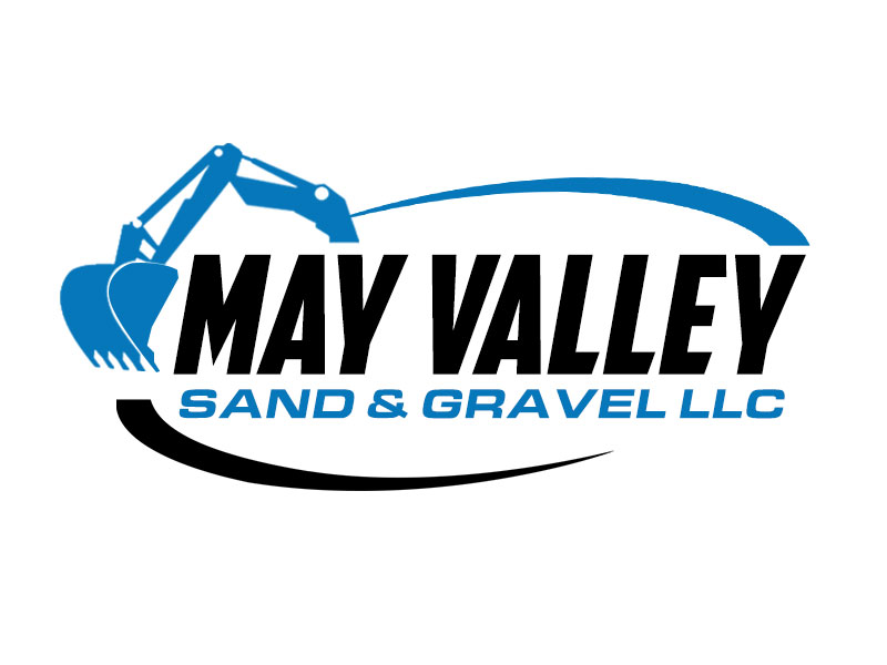May Valley Sand & Gravel LLC logo design by kunejo