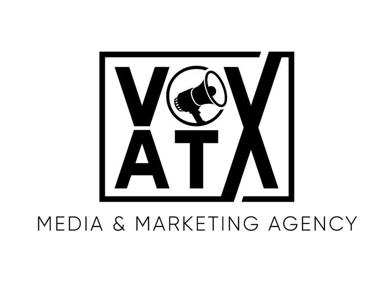 VOX ATX: Media & Marketing Agency logo design by DreamLogoDesign