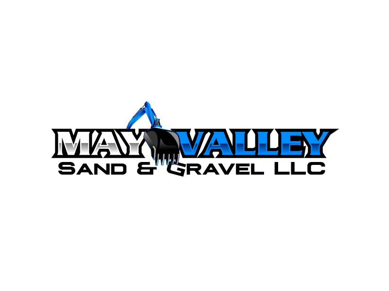 May Valley Sand & Gravel LLC logo design by axel182