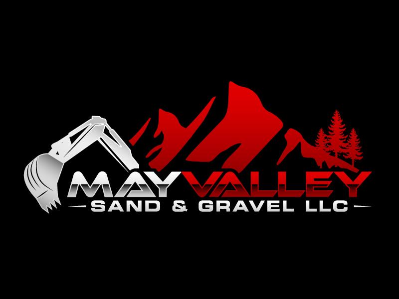 May Valley Sand & Gravel LLC logo design by karjen