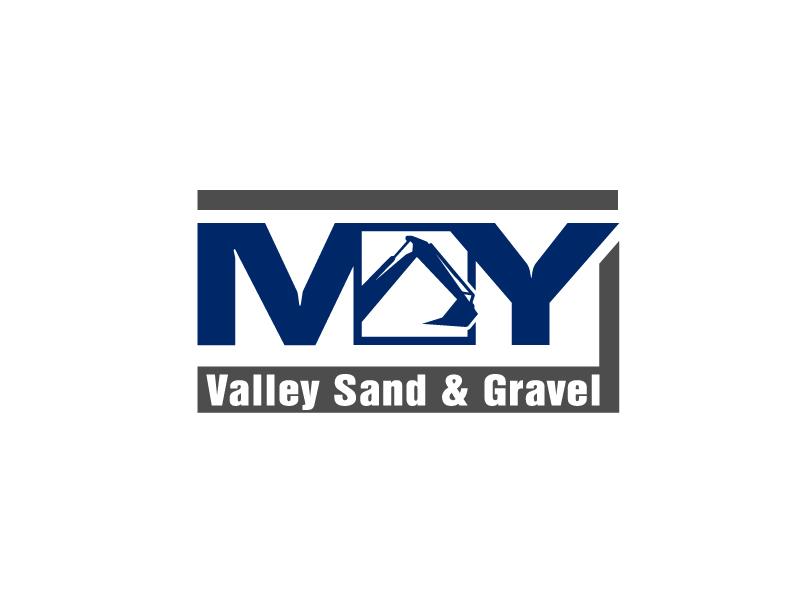 May Valley Sand & Gravel LLC logo design by Marianne