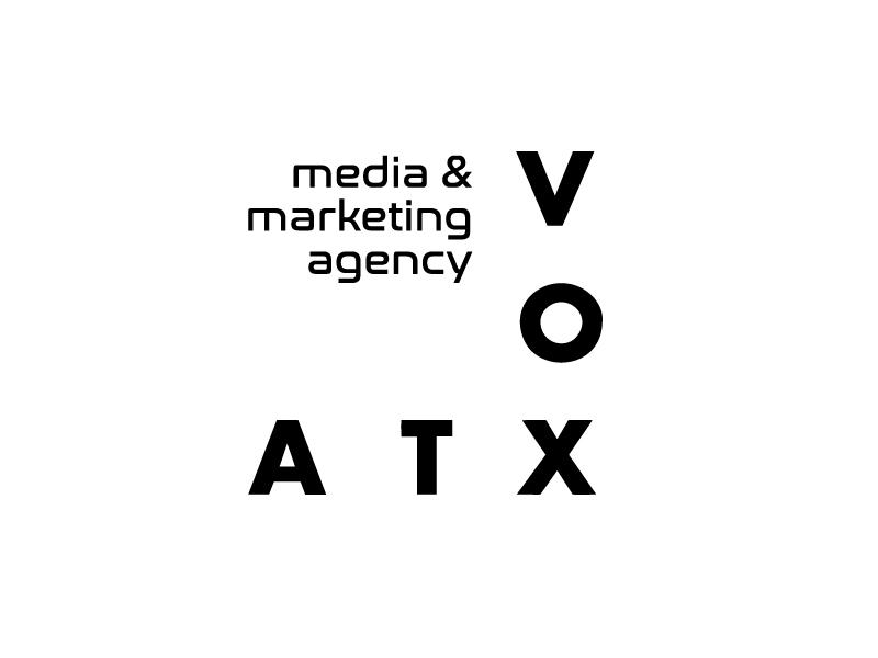 VOX ATX: Media & Marketing Agency logo design by Marianne
