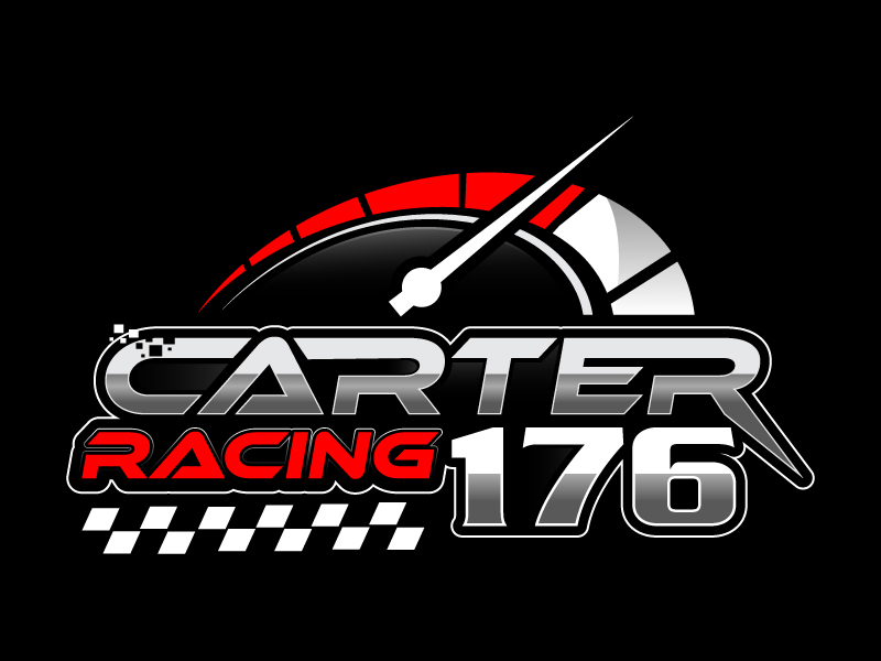 Carter Racing 176 logo design by Suvendu