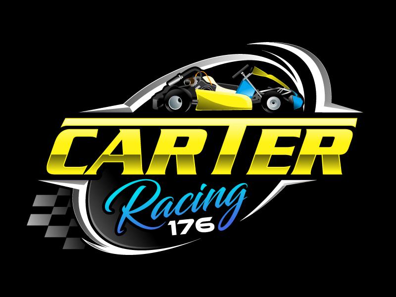 Carter Racing 176 logo design by LogoQueen