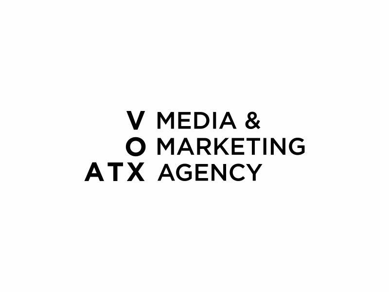 VOX ATX: Media & Marketing Agency logo design by andayani*