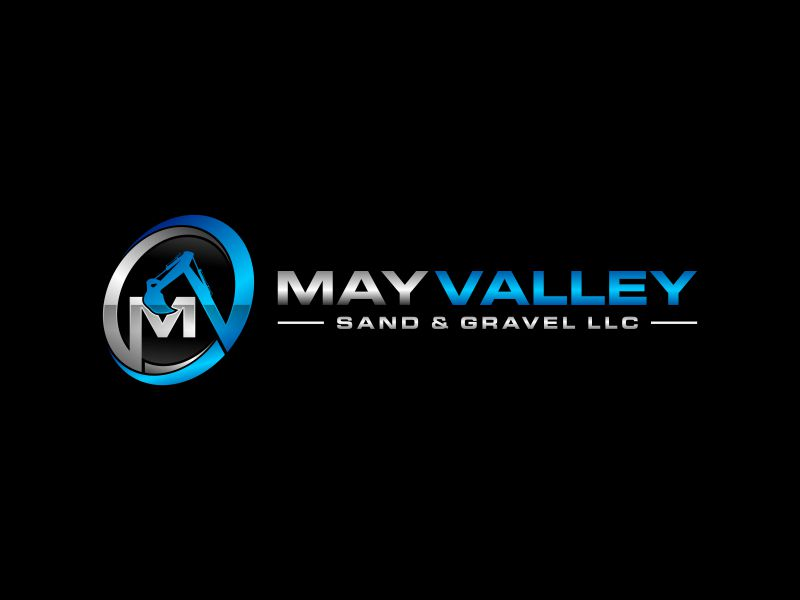May Valley Sand & Gravel LLC logo design by Kopiireng