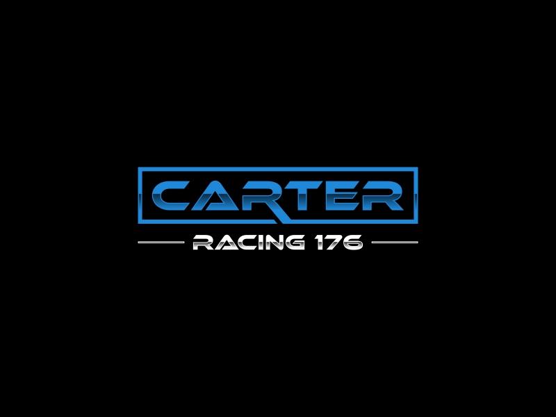 Carter Racing 176 logo design by Zeratu