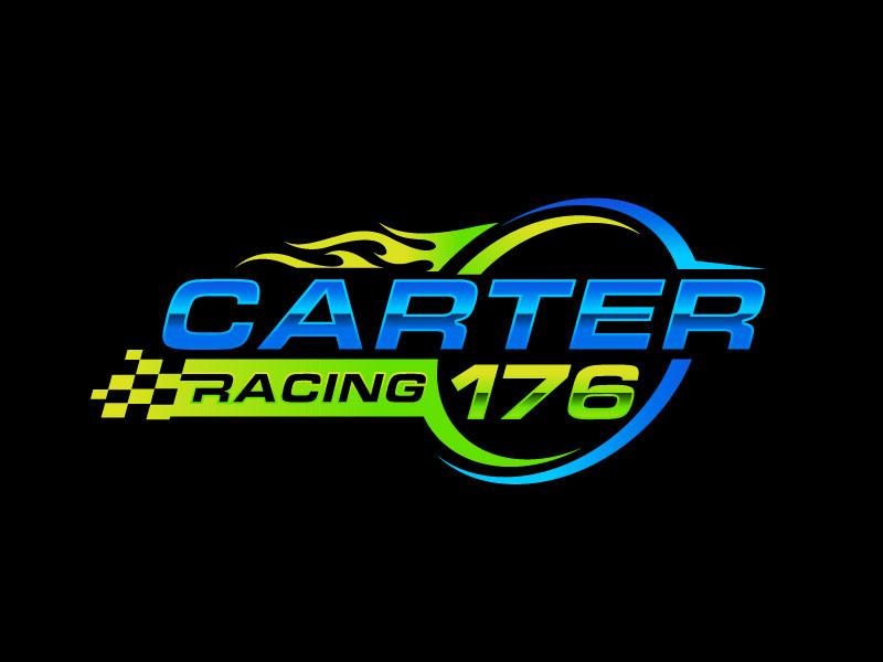 Carter Racing 176 logo design by Pompi Saha
