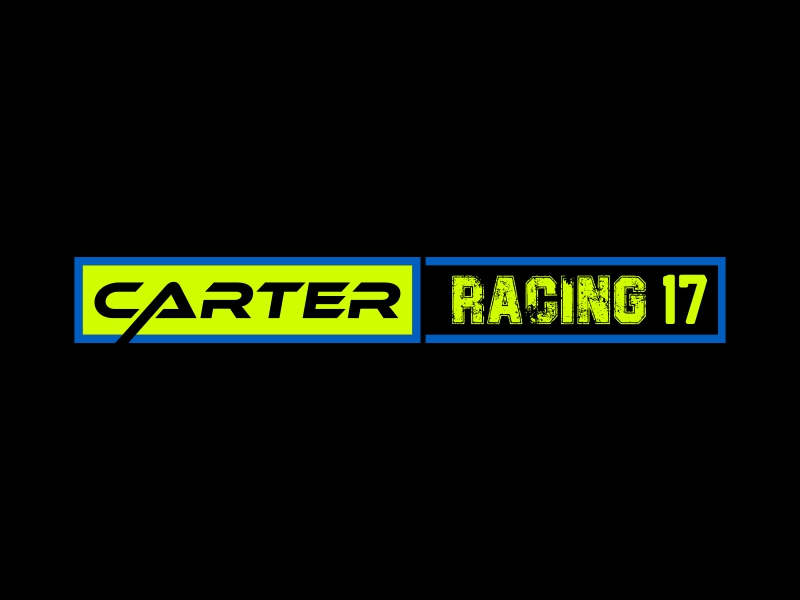 Carter Racing 176 logo design by banaspati