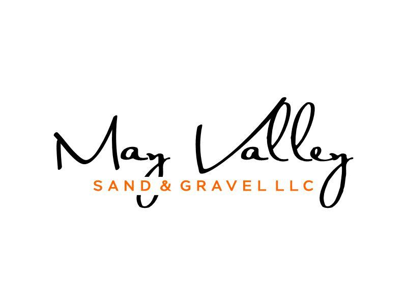May Valley Sand & Gravel LLC logo design by Gwerth