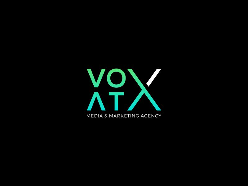 VOX ATX: Media & Marketing Agency logo design by restuti