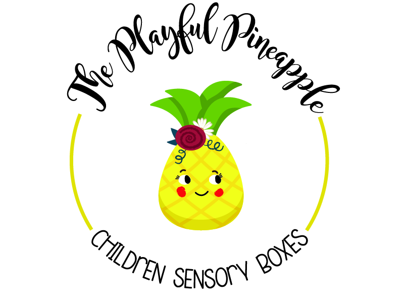 The Playful Pineapple Logo Design