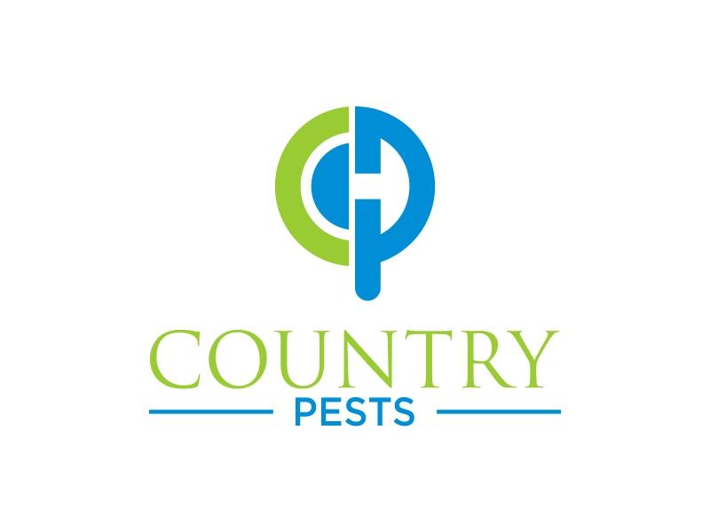 Country Pests logo design by banaspati