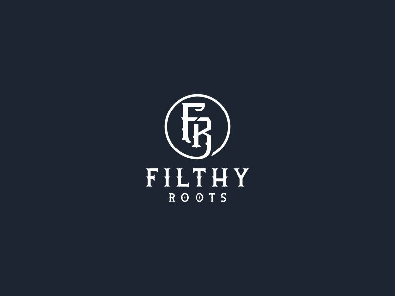 Filthy Roots logo design by Galfine