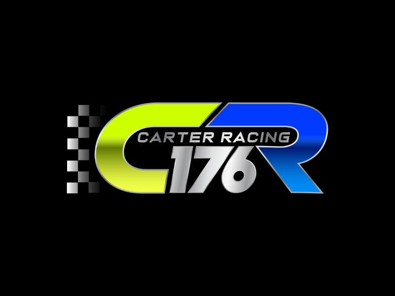 Carter Racing 176 logo design by nona