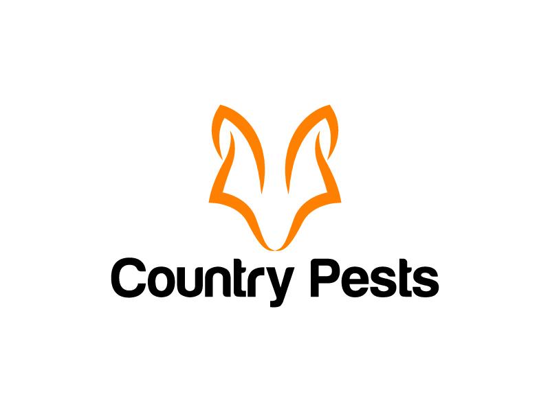 Country Pests logo design by Kirito