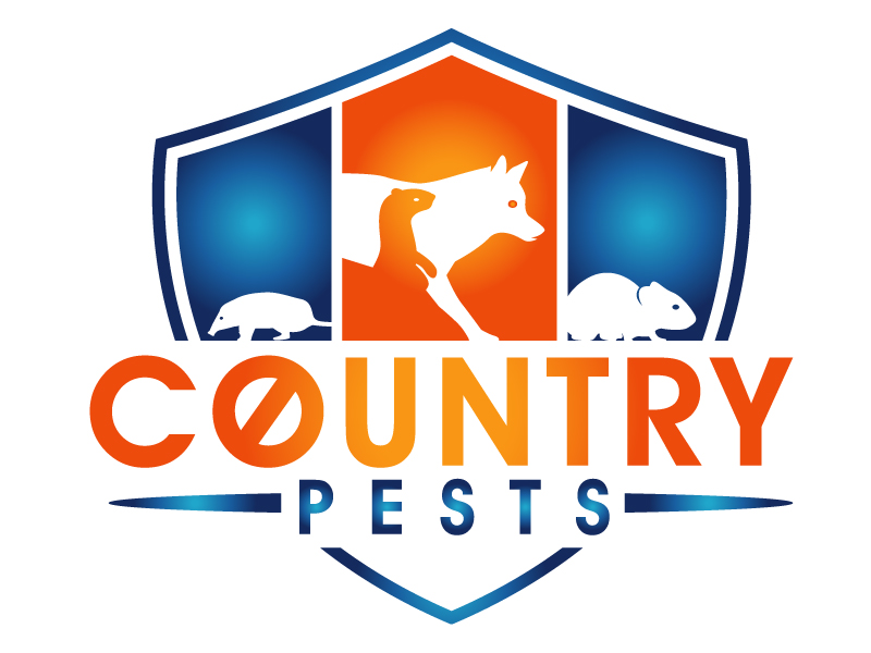 Country Pests logo design by PMG