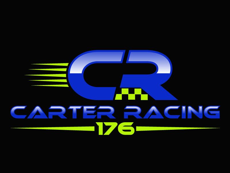Carter Racing 176 logo design by PMG