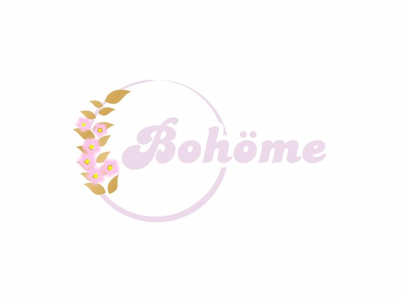 Bohöme logo design by Greenlight
