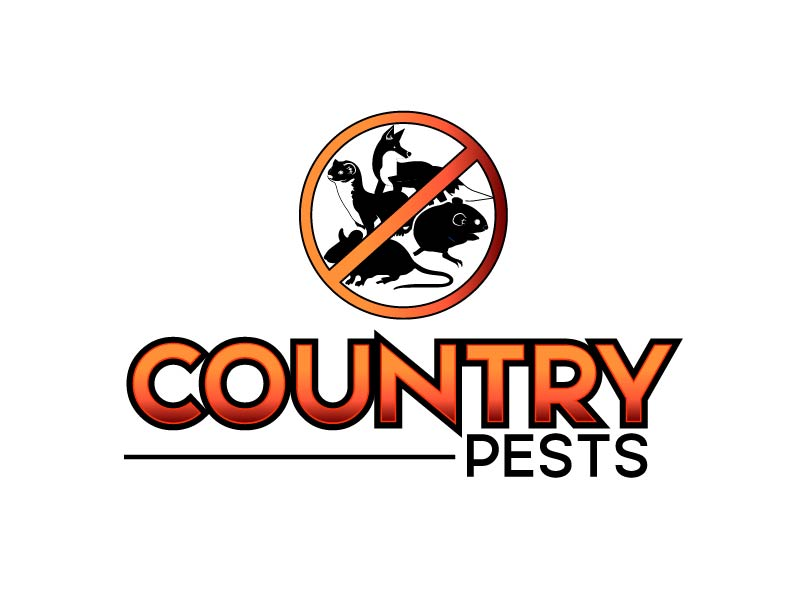 Country Pests logo design by axel182