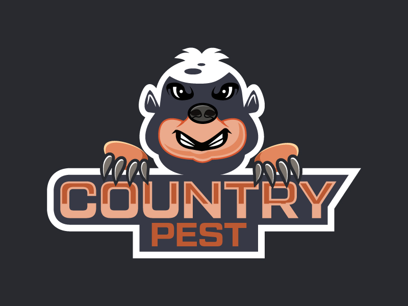Country Pests logo design by czars