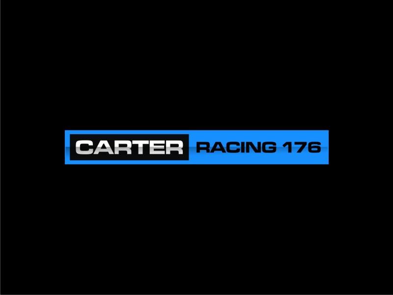 Carter Racing 176 logo design by sheila valencia