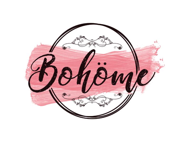 Bohöme logo design by Erasedink