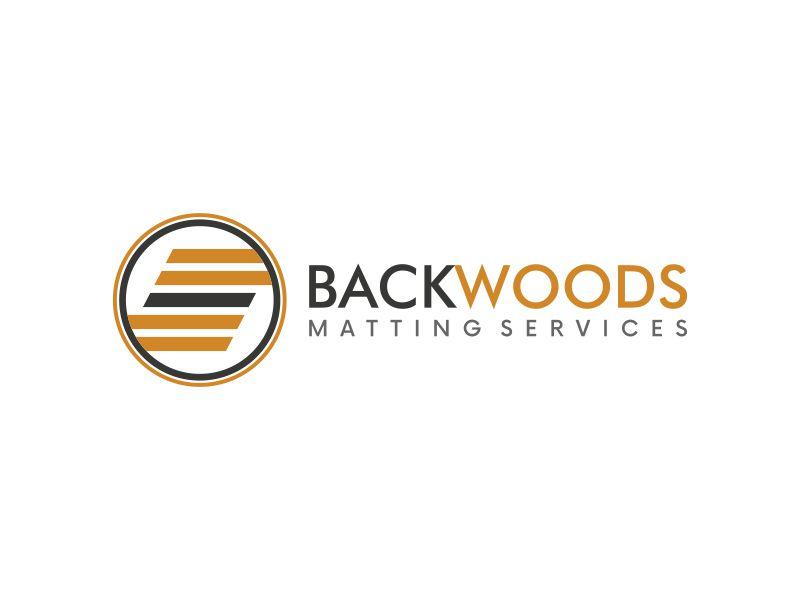 Backwoods Matting Services Logo Design