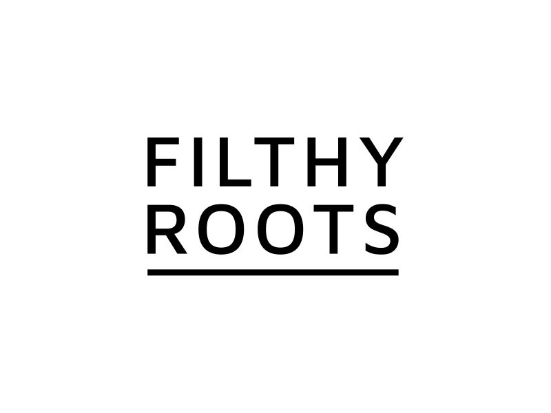 Filthy Roots logo design by artery