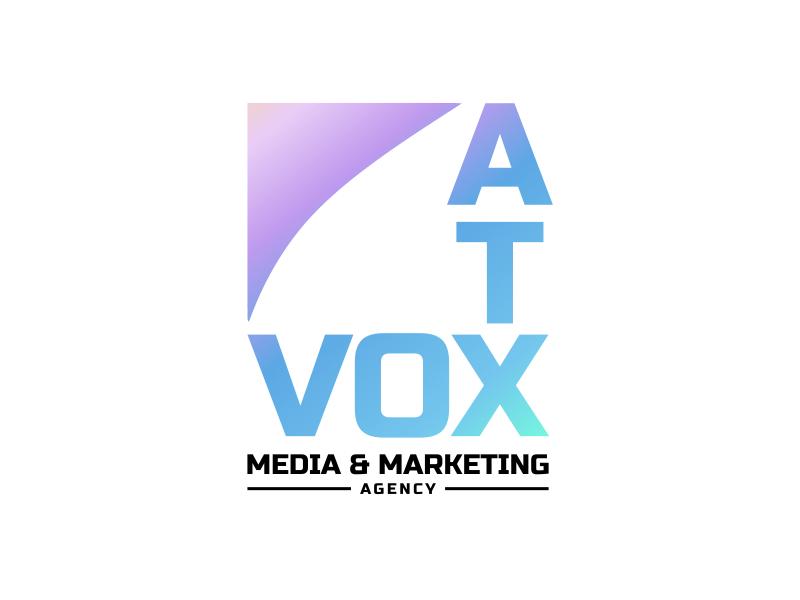 VOX ATX: Media & Marketing Agency logo design by imagine