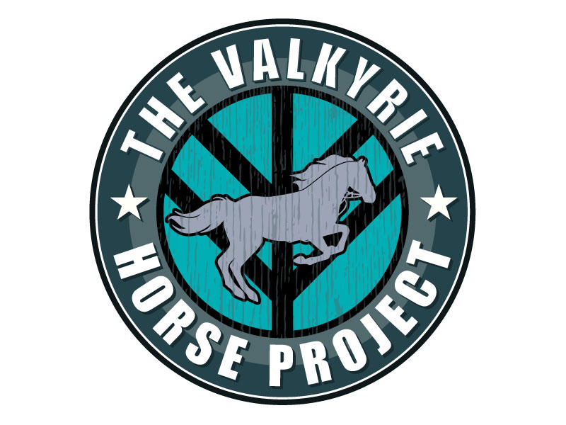 The Valkyrie Horse Project logo design by aryamaity