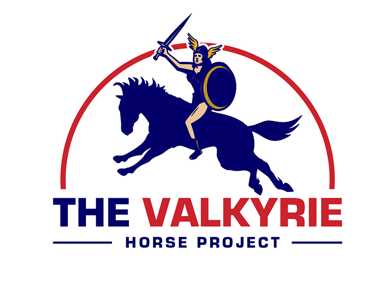 The Valkyrie Horse Project logo design by PrimalGraphics